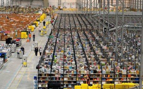 Amazon ouvre un nouveau centre de distribution en France et prévoit 500 emplois