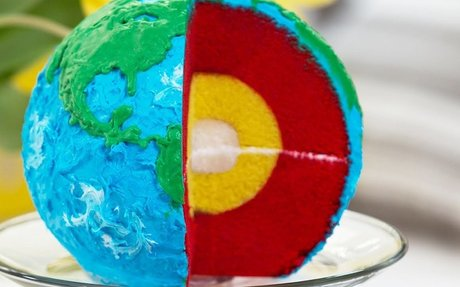 LAYERED EARTH CAKE