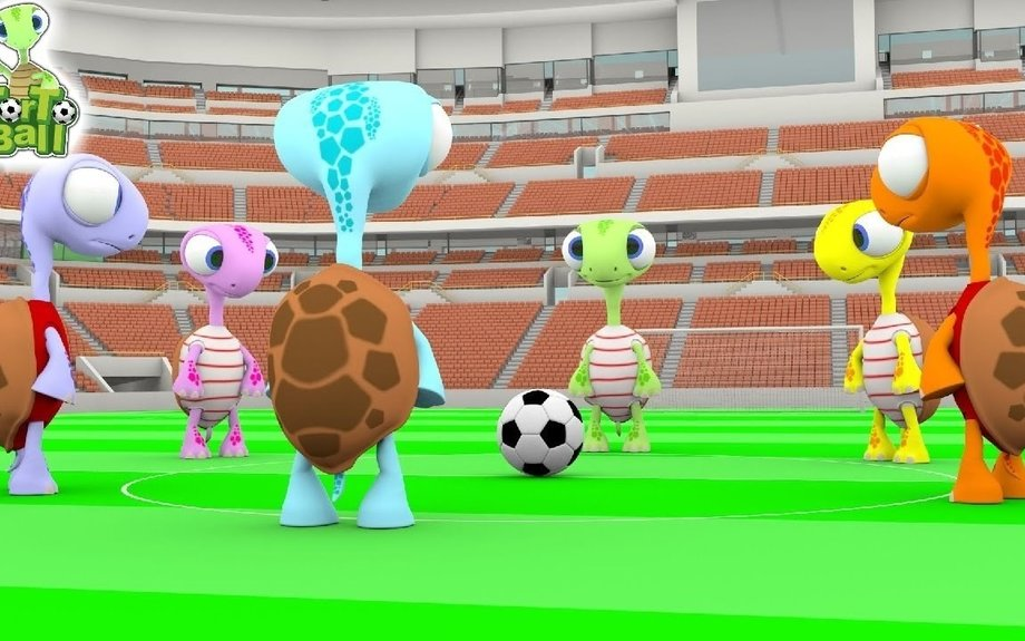 Football Competition Funny Turtles Soccer Ball For Children and Kids by Torto Ball