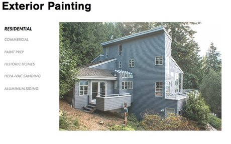 Exterior Painting - Recent Work