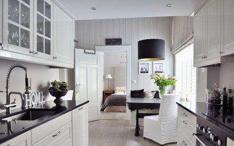 Die Einrichtung - Küche - Esszimmer - Wohnzimmer