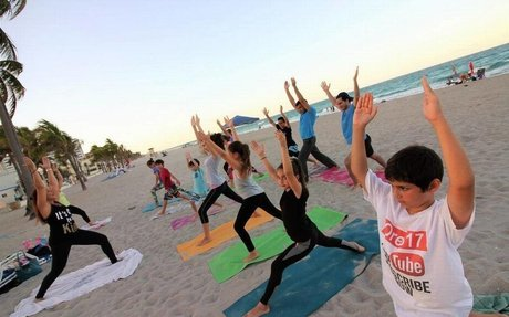 Is your child dreading the school-year stress? Have them do yoga