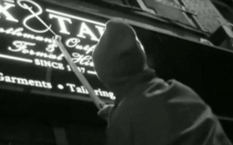 Revealed: Self-styled 'grammar vigilante' corrects badly punctuated shop signs in dead of
