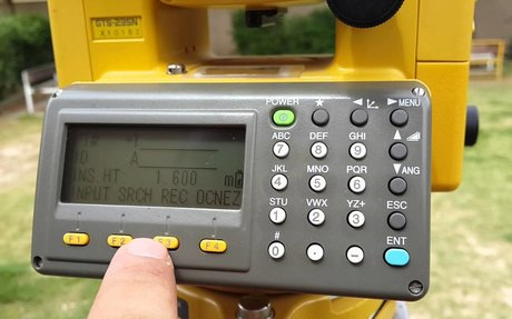 Topcon GTS235 Total Station Guide and Video