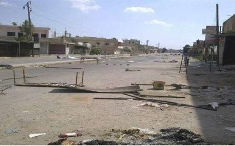 استمرار المعارك في داريا و النظام يُدمر مشفى ميداني في خان الشيح