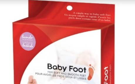 Baby Foot Exfoliant foot peel