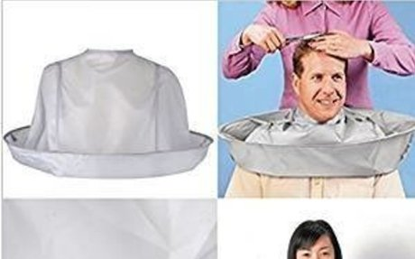 Amazon.com: Meolin Hair Cutting Cloak Umbrella Catcher Cape for Hair Collection: Kitchen &