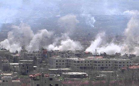 حزب الله يحرق منازل الزبداني بريف دمشق ويحاول السيطرة على مصادر المياه - آرانيوز