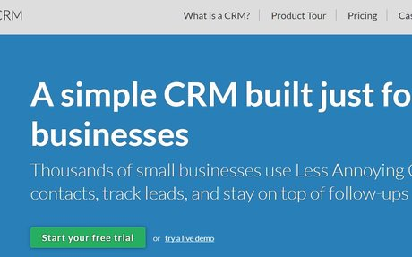 Less Annoying CRM | Simple Contact Management for Small Business