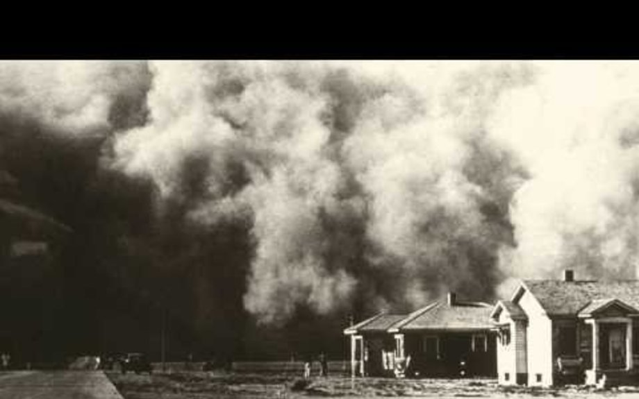 1935 Black Sunday Dust Storm