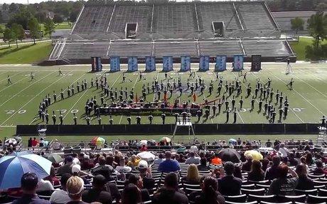 TMHS The Roarin' Blue Band