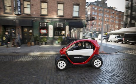 """Nissan Demonstrates """"Micromobility"""" at 2016 New York International Auto Show"""