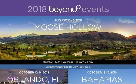 2018 Beyond Events