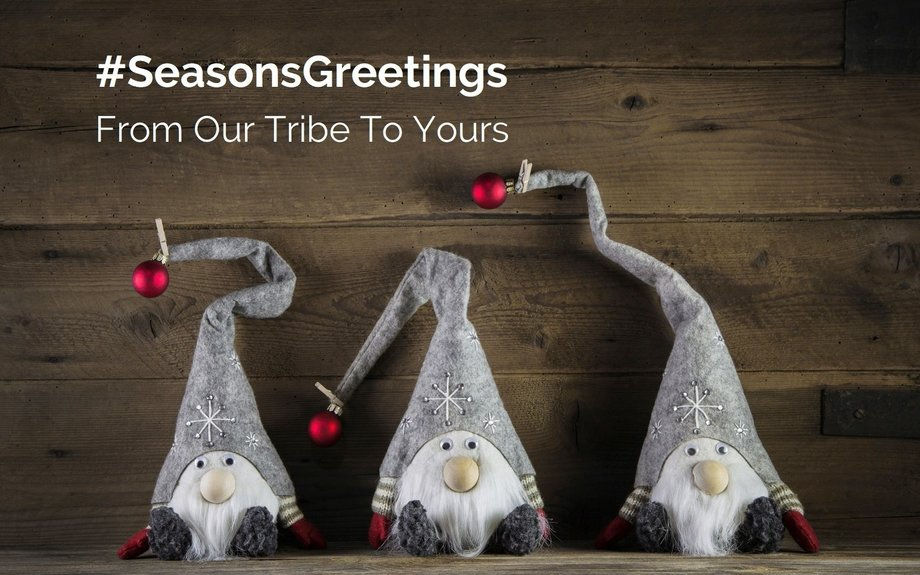 #SeasonsGreetings From Our Tribe To Yours