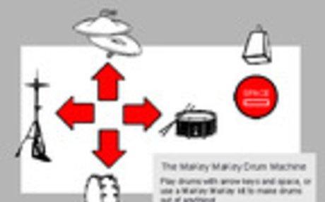 Scratch - MaKey MaKey Drum Machine