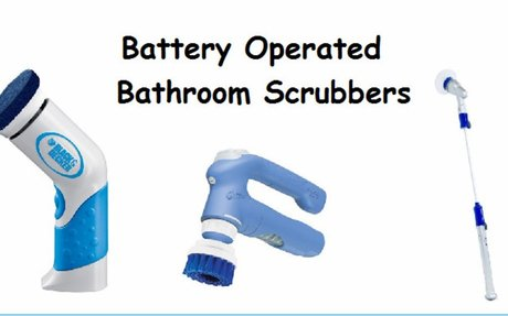 Best Battery Operated Bathroom Scrubbers For Tub Tile And