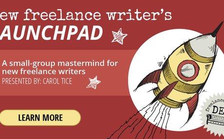 New Freelance Writer's LaunchPad