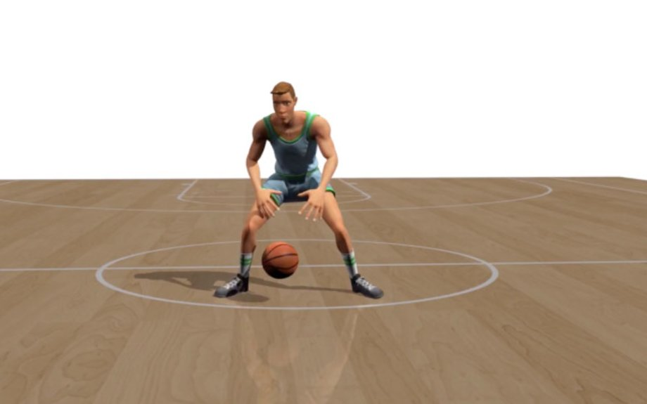 Researchers teach an AI how to dribble