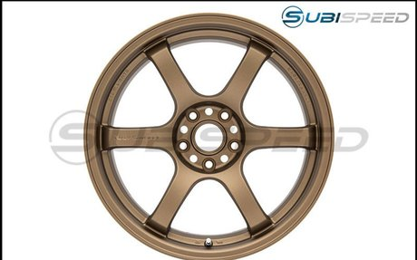 Gram Lights 57DR Bronze 18x9.5 +38 Wheels - 2015+ WRX / 2015+ STI