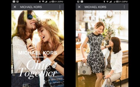 Michael Kors' WeChat Selfie Competition Shows New York Heritage