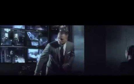 Sony - James Bond`s Skyfall - Daniel Craig - Electronics - TV Commercial - TV Ad - TV Spot
