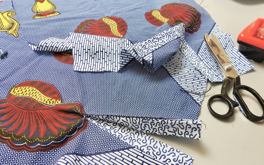 Sew a collarless shirt with a tailor - Airbnb