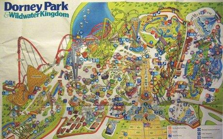 Dorney Park - Theme Park Brochures