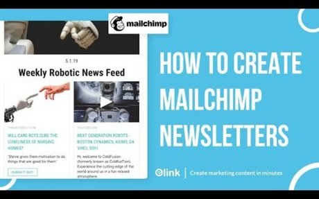 How to Create Mailchimp Newsletters in Minutes