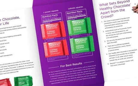 Beyond Healthy Chocolate® Sample Campaign NOW LIVE!