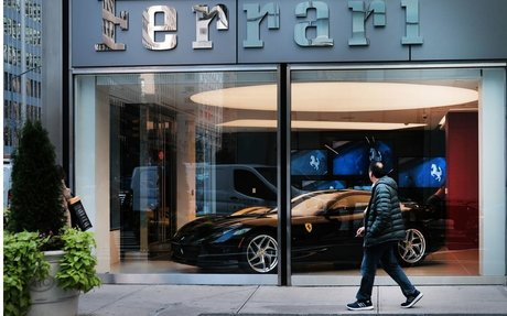 BRAND HIGHLIGHT // Ferrari Revs Up Luxury Fashion Offerings With Armani Partnership