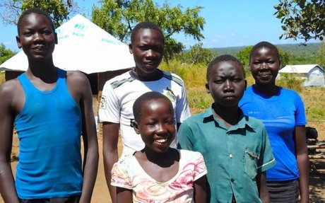 Children face new perils in Ugandan refugee settlements