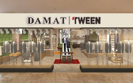 International Men's Brand DAMAT/TWEEN Launches Canadian Expansion with 1st Storefront