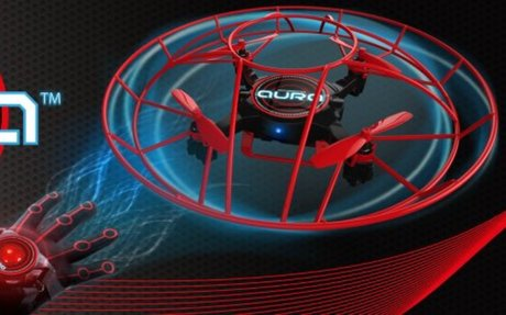 KD Interactive Aura Drone with Glove Controller: Toys & Games