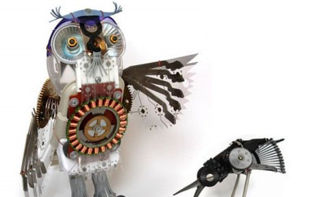 40 Terrific Works of Art Made From Common Trash - noupe
