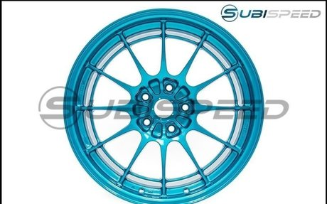 Enkei NT03+M 18x9.5 +40mm Emerald Blue - 2015-2018 WRX / STI