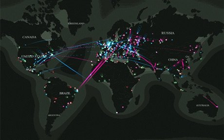 Real -Time Threat Map