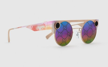 BRAND HIGHLIGHT // These Gucci Sunglasses Have Built-in Cameras