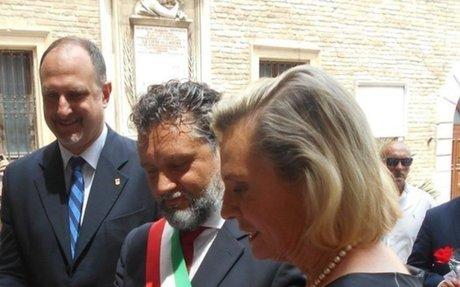 Liberazione, Anna Maria Anders a Loreto - Marche