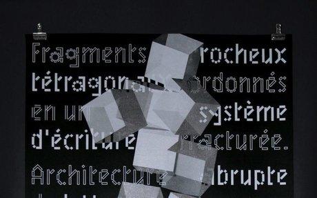 article: Benoît Bodhuin's Mischievous + Rebellious Typographic Experiments
