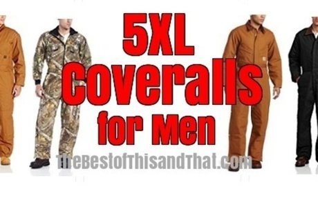 Best 5xl Coveralls for Men - Insulated and Non Insulated
