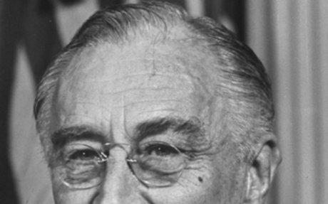 5. Franklin D. Roosevelt- 32nd president of the United States
