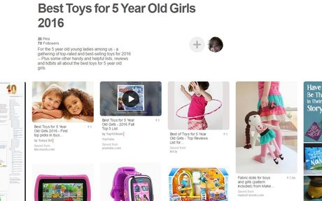 Best Toys for 5 Year Old Girls 2016 - Pinterest