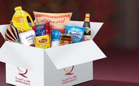 قطر الخيرية - مشاريع رمضان - مونة رمضان