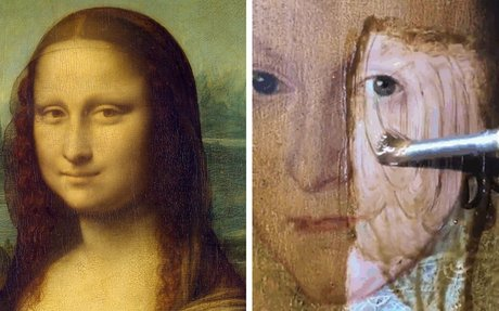 People Won't Stop Demanding The Mona Lisa To Be Cleaned, So Someone .........