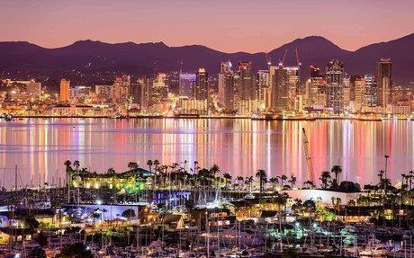 I'm from San Diego, California