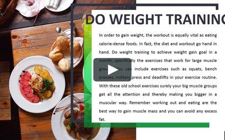 Gavin Manerowski | How to Gain Weight?