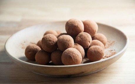 2 ingredient German Marzipan Balls