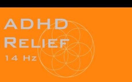 ADHD Relief Focus Music - Super Mental Focus - 14 Hz Binaural Beats
