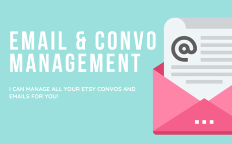 Get Etsy Convos and Emails Done for You