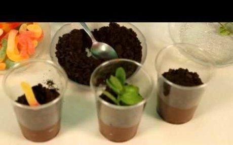 Earth Day Recipe: Chocolate Pudding Dessert